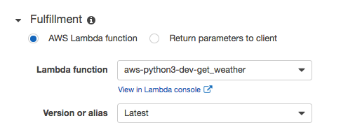 lambda fulfillment