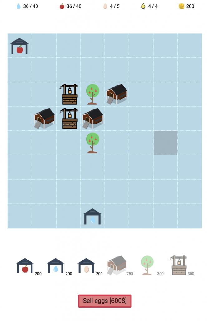 Przyszczypki PWA farm game